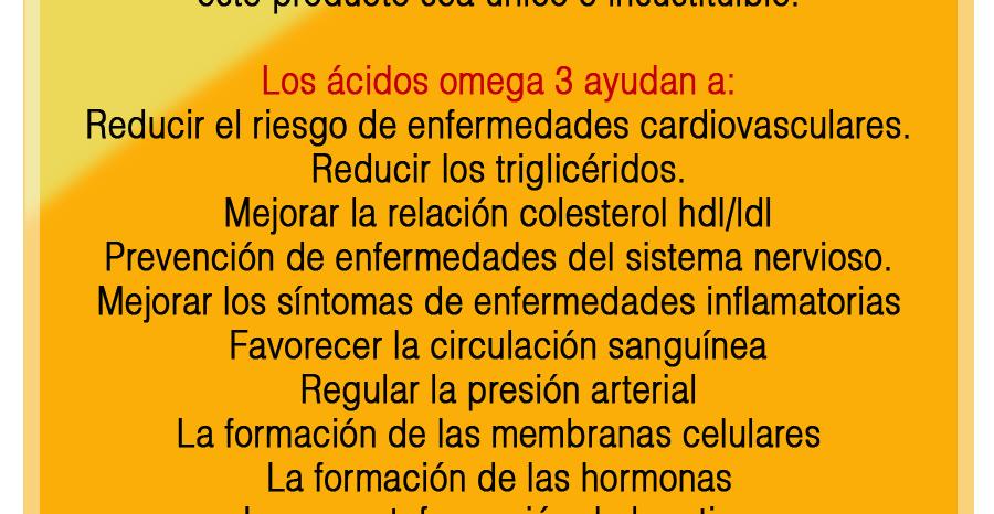 omega 3 para prevenir